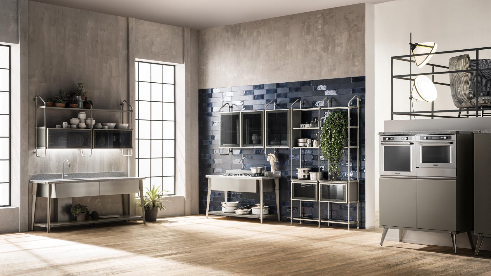 Cucina Moderna Scavolini Diesel Open Workshop | Mobili Incardone