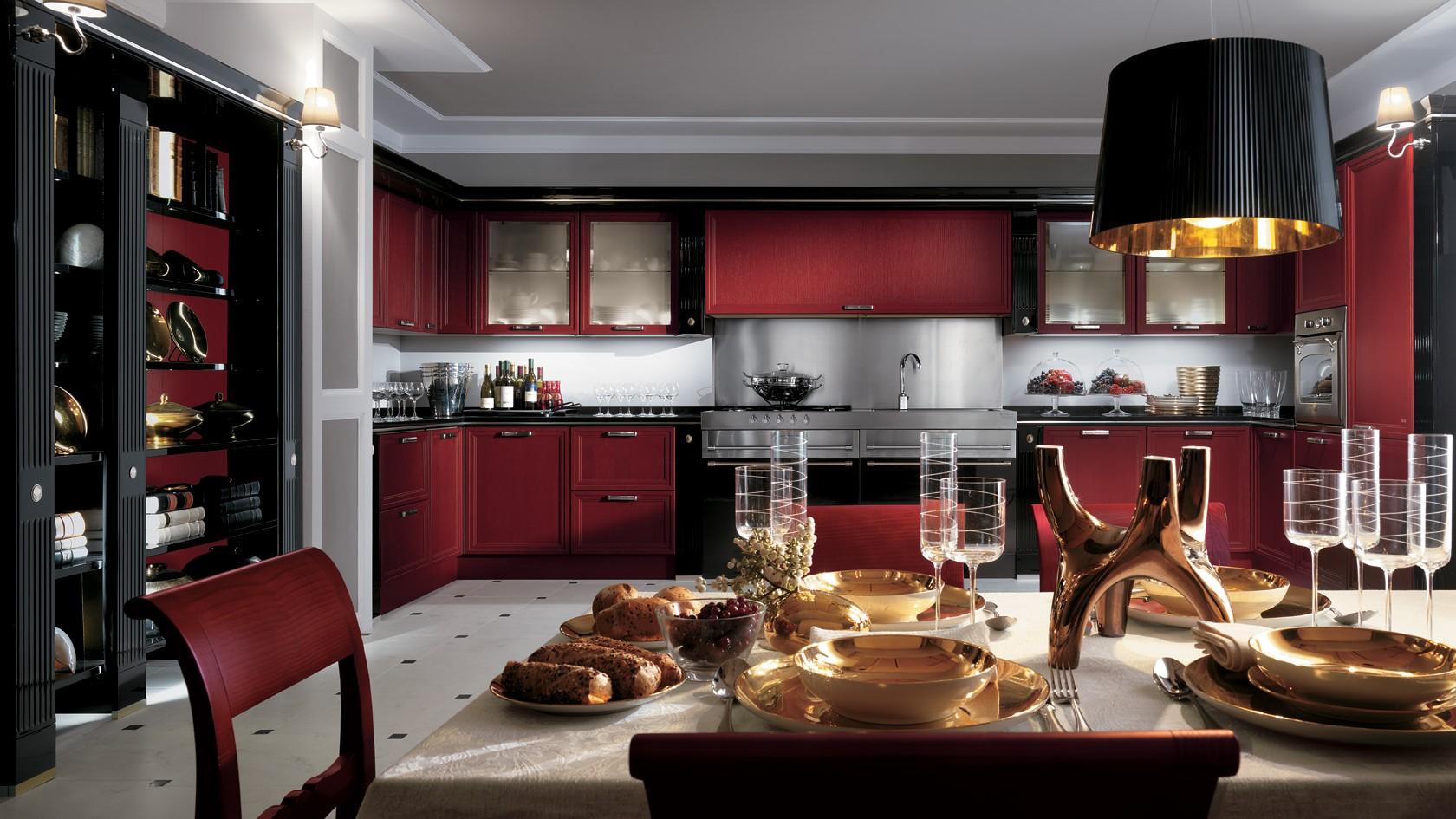Cucina Classica Scavolini Grand Relais-Mobili Incardone