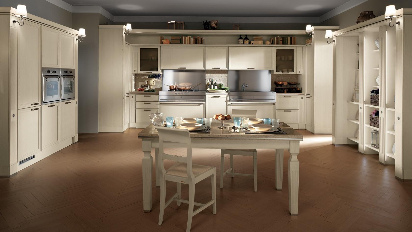 Cucine Classiche Moderne Scavolini.Cucina Classica Scavolini Grand Relais Mobili Incardone