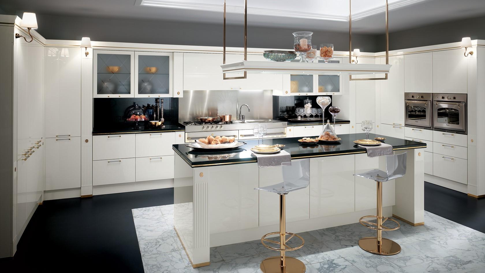 Cucina Classica Scavolini BACCARAT - Mobili Incardone
