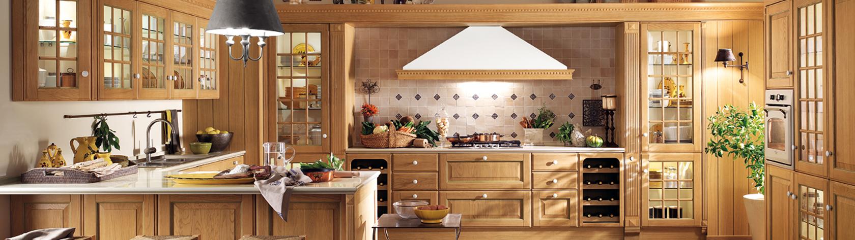 Vendita Cucine Classiche e Moderne Scavolini a Enna