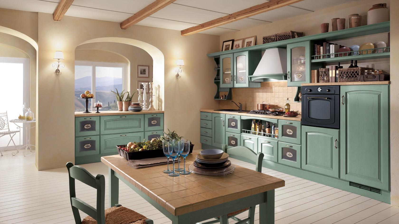 Cucina Classica Scavolini Madeleine_Mobili Incardone