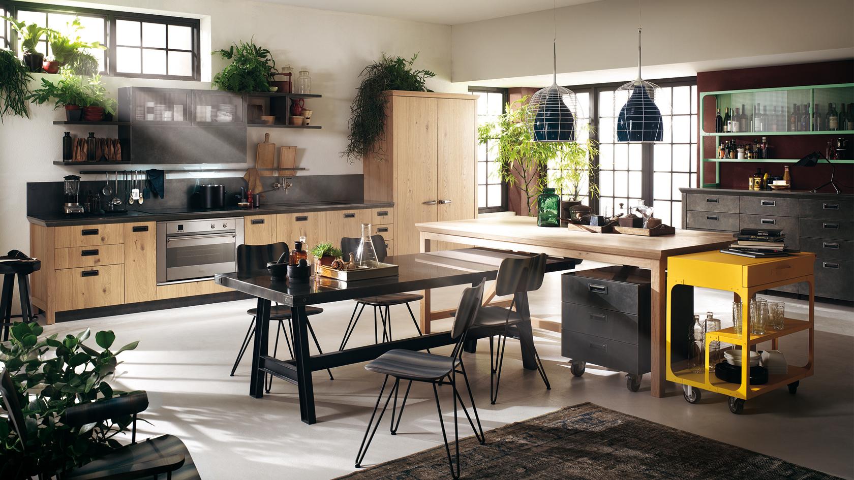Cucina Moderna Scavolini Diesel Social Kitchen-Mobili Incardone