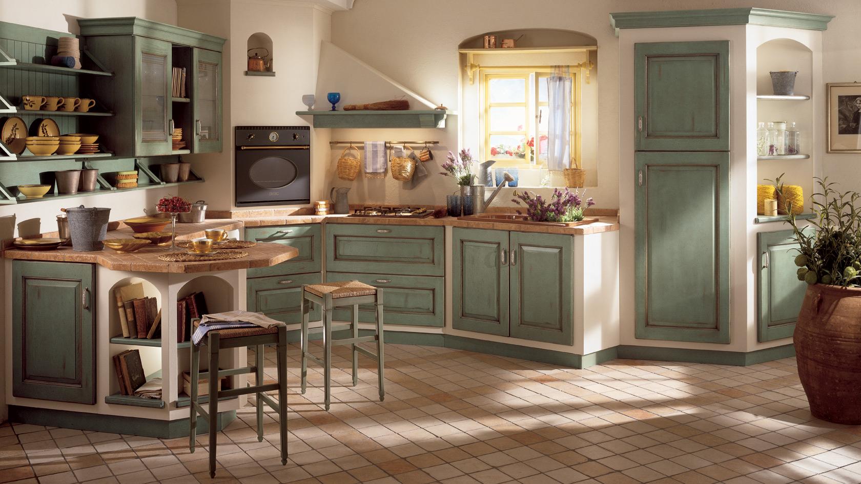 Cucina Classica Scavolini Belvedere - Mobili Incardone