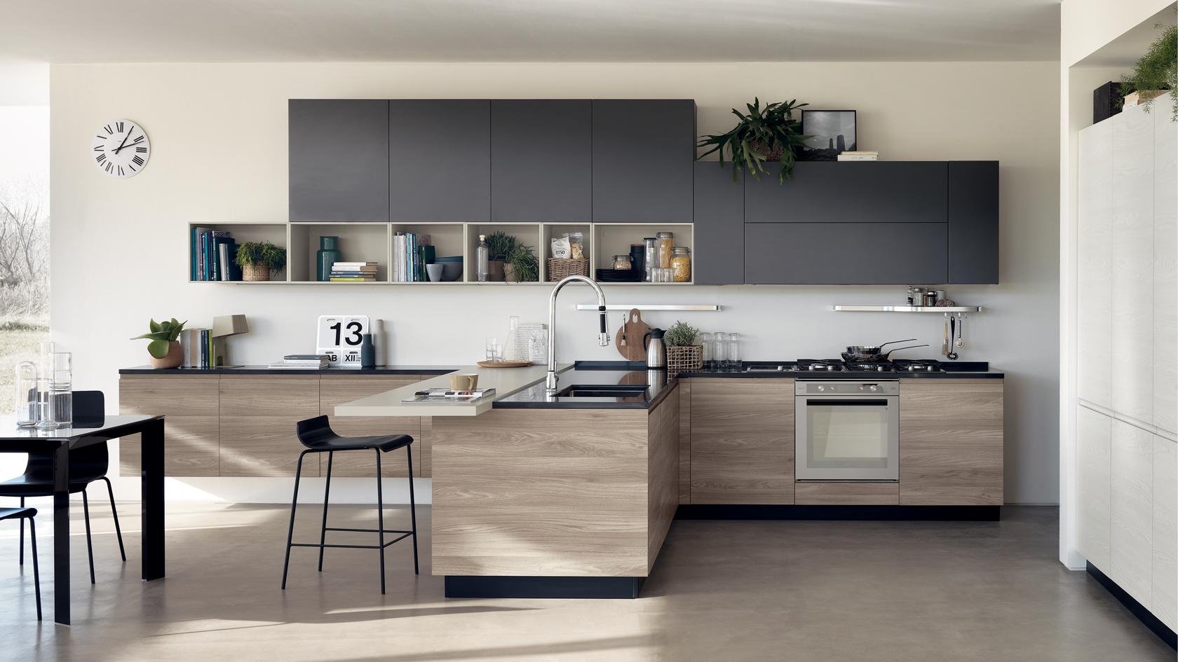 Catalogo Cucine Scavolini Moderne 2019.Cucina Moderna Scavolini Motus Mobili Incardone