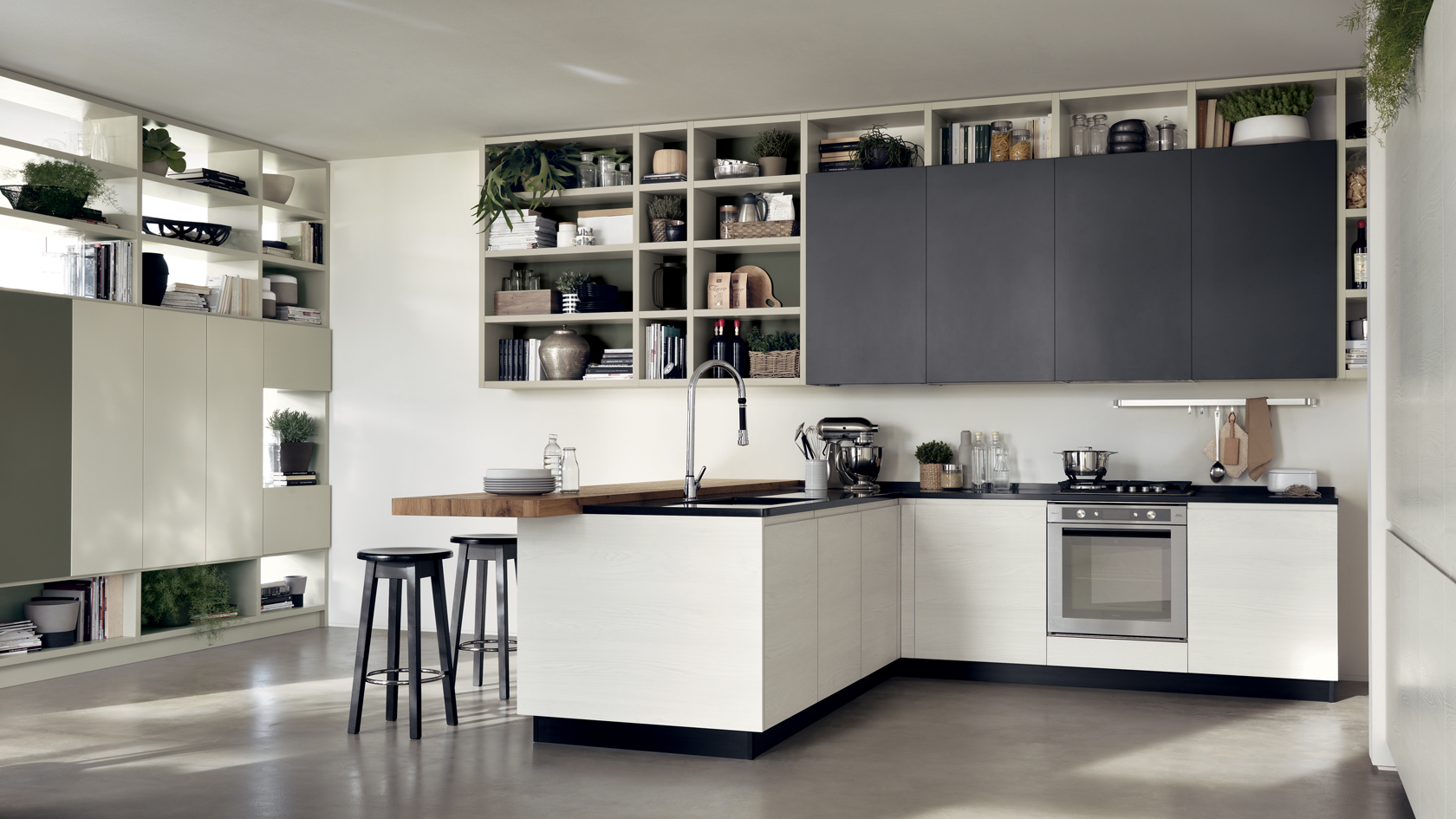 Cucina Moderna Scavolini Motus - Mobili Incardone
