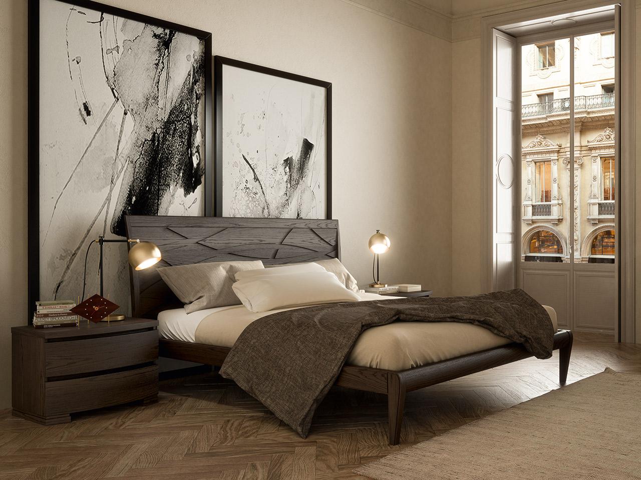Testata Letto Con Porta Vecchia camere da letto bruno piombini | mobili incardone