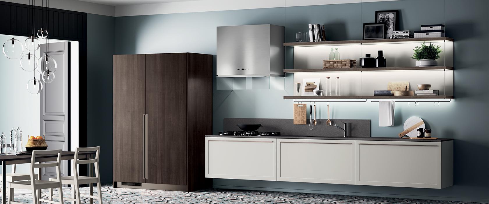 Cucina Moderna Scavolini Carattere-Mobili Incardone-Mobili Incardone